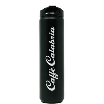 Black Plastic Water Bottle